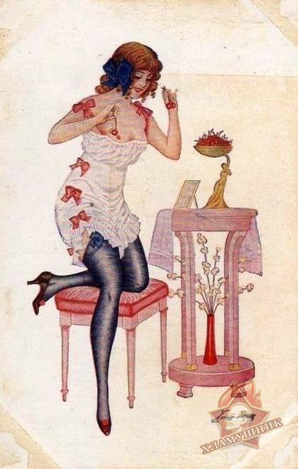 Старинные открытки с эротическим содержанием